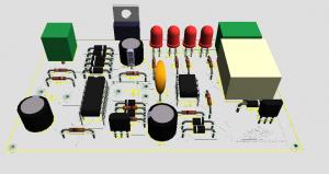 volt guard PCB 3D